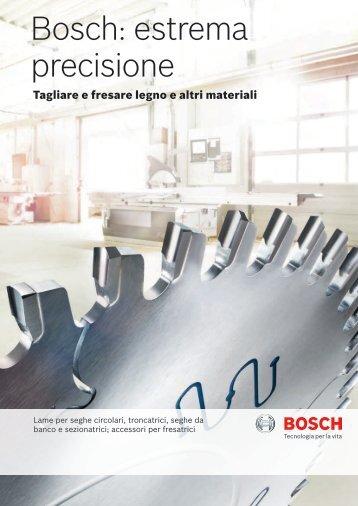 Bosch: estrema precisione