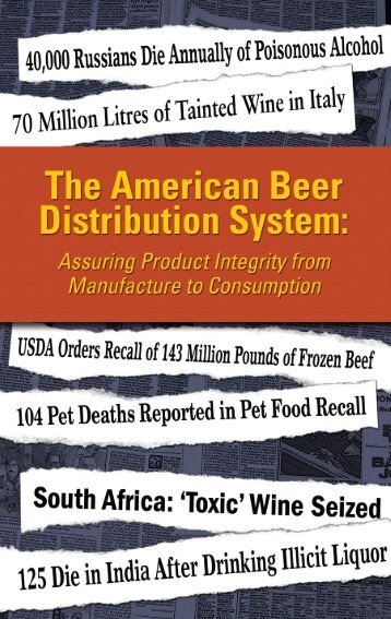 Assuring Product Integrity Brochure - National Beer Wholesalers ...