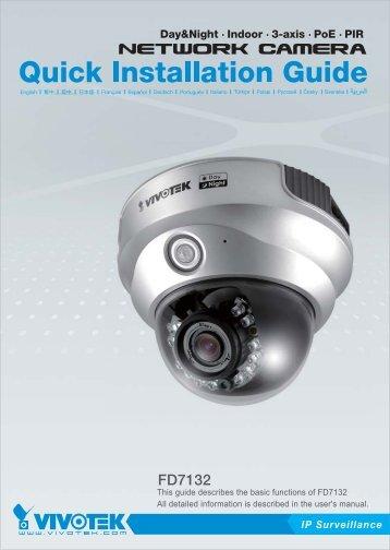 Vivotek FD7132 User Guide - Use-IP