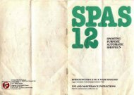 Franchi SPAS-12 Manual, Original