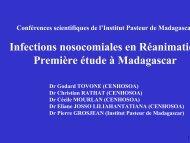Infections nosocomiales en Réanimation Première étude à ... - ReMeD