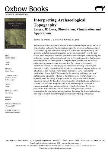 Complete AIs - PDF - Oxbow Books