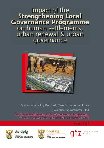 Impact of the Strengthening Local Governance Programme on ...