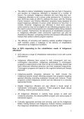 Rehabilitative needs and treatment of Indigenous offenders in ... - Page 7