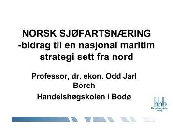 STRATEGI FOR NORD-NORSK SJØFARTSNÆRING - Maritim21