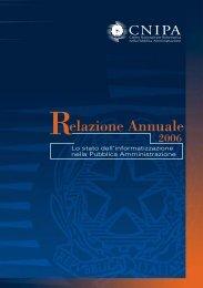 Lo stato dell'informatizzazione nella Pubblica ... - Archivio CNIPA