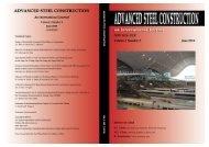Volume 6, No. 2 (June 2010) - The Hong Kong Institute of Steel ...