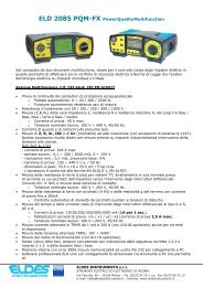 ELD 2085 PQM-FX PowerQualityMultifunction - Giva Energy