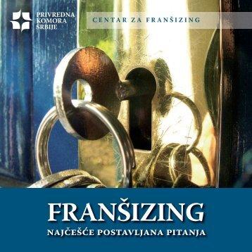 brošura Franšizing - Privredna komora Srbije