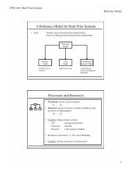 A Reference Model For Real-Time Systems - TAMU Computer ...