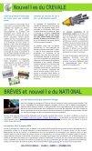 Bulletin de liaison - novembre 2009 - CREVALE - Page 2