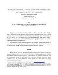 Rad - Evropski pokret u Srbiji