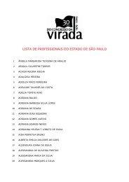 Profissionais de São Paulo confirmados - CFESS