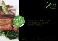 July - Zest Caterers