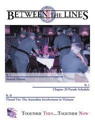 Annual Dinner - Vietnam Veterans of America - Chapter 20