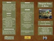 Vineyard Lanes & Bistro - Summerland Chamber