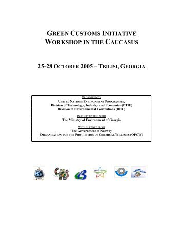 Tbilisi - Green Customs Initiative