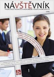 Časopis NÁVŠTĚVNÍK 1 - Vysoká škola technická a ekonomická v ...