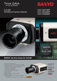 VCC-HD2100P VCC-HD2300P VCC-HD2500P Full HD CS-Mount ...