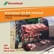 Kverneland 150 B/S Variomat