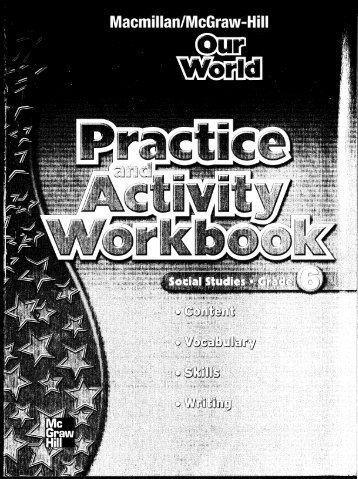 Grade 6 Practice and Activity Workbook - Macmillan/McGraw-Hill