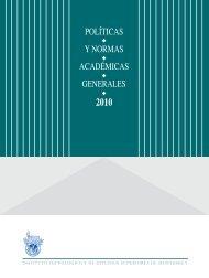 políticas y normas académicas generales - Tecnológico de Monterrey