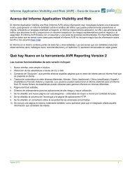 AVR Reporting – Guía de usuario 2010