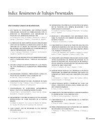 Indice. Resúmenes de Trabajos Presentados - Sociedad Chilena de ...