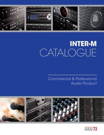 2011 inter-m catalogue