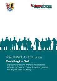 Demografie-Check Garmisch-Partenkirchen, Teil 1