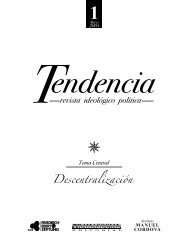diagramación final tendencia - Flacso Andes