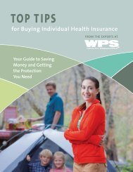 Top Tips for Buying Individual Health Insurance - WPS