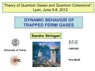 slides - Theory of Quantum Gases and Quantum Coherence