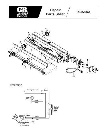 BHB-540A Repair - Gardner Bender