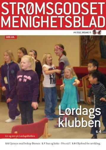 Nr 4. desember 2012 - Den norske kirke i Drammen