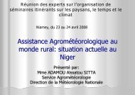 situation actuelle au Niger