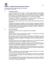 Notas Explicativas - Funcef