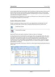 Adresslisten Anwender - work ... for all!