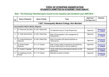 sonajirao kshirsgar homoeopathic medical college, beed