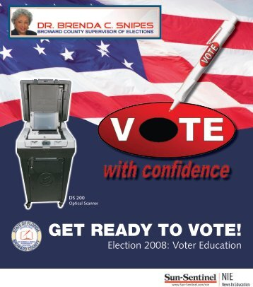 Get ready to Vote! Vol I-Grades8-Adult