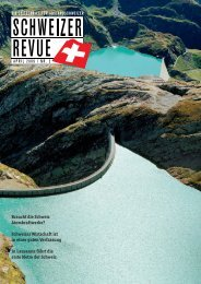 Download PDF Schweizer Revue 2/2009