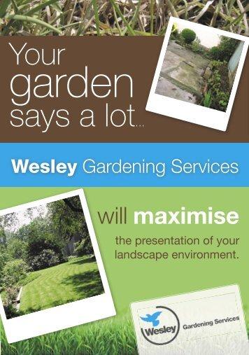 2150-26683 - A5 Garden Flyer - Wesley Mission