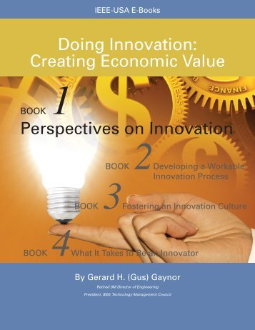 Doing Innovation: Creating Economic Value -- Book 1 ... - ISTEC