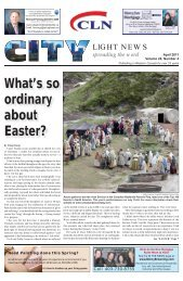 What's so ordinary about Easter? - City Light News