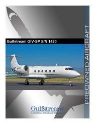 Gulfstream GIV-SP S/N 1420 - SMS Aircraft
