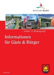 Informationsbroschüre zum Downloaden - Barßel