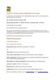 Presseaussendung PHOENIX Jänner 2013 - GAFÉIAS