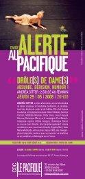 ALERTE 5 FINAL 2.indd - Le Pacifique