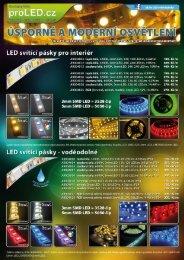 Leták LED světelné pásky ke stažení - HDT impex s.r.o.