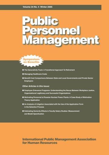 Managing - IPMA